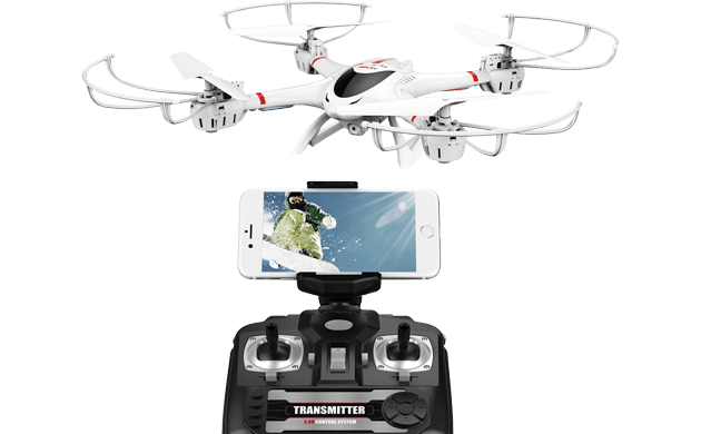 MJX WIFIカメラ付き ドローン iOS/Android対応